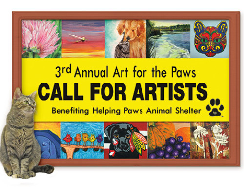 Calling All Artists – 3rd Annual Art for the Paws