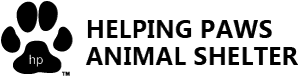 Helping Paws Animal Shelter Retina Logo